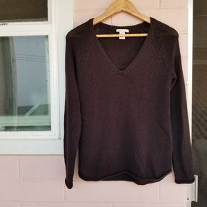 h&m • knit long sleeve top